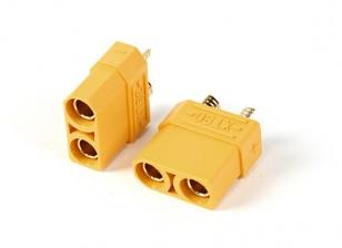 Nylon XT90 conectores hembra (5pcs / bolsa)