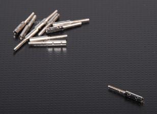 Extremos roscados M2xL20mm (10pcs / set)