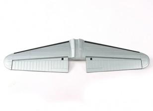 HobbyKing 1875mm B-17 F / G fortaleza del vuelo (V2) (Plata) - Sustitución Horizontal tailplane