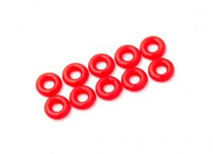 Junta tórica 3 mm Kit (neón rojo) (10pcs / bag)