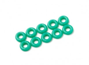 Junta tórica Kit de 3 mm (verde) (10pcs / bag)