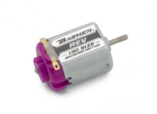 Basher REV 130 Tamaño del motor cepillado (púrpura)