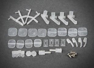 Las piezas de plástico COMBO-02 (Chuck / horquilla / Rocker / Presser)