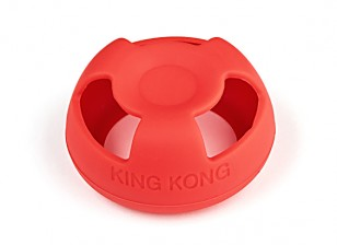 KINGKONG seta Antena chaqueta protectora (versión Fatshark) (rojo)