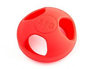 KINGKONG seta Antena chaqueta protectora (Edición universal) (RED)