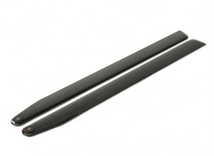715mm TIG fibra de carbono principal Cuchillas