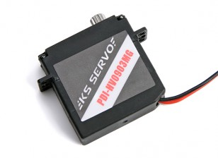 KS-Servo PDI-HV0903MG Delgado Ala AT / BB / DS / 2,6 kg MG Servo / 0.07sec / 9g