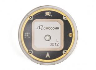 Estándar GPS-M8N y MAG y del LED