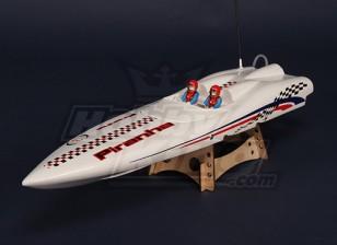 Piranha 600 sin escobillas V-Hull R / C Barco (670mm)