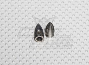 Prop tuerca - Traje de 5 mm del eje (2 PC)
