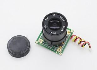 1/3 pulgadas Sony CCD de la cámara de vídeo 700TV Líneas F1.2 (PAL)