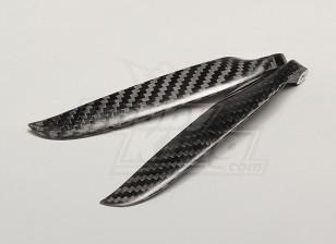 Plegable 11x6 de fibra de carbono de la hélice (1 unidad)
