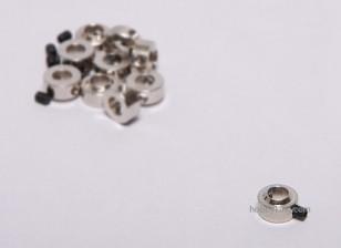 Tren de aterrizaje de ruedas detiene Set collar 6x5.1mm (10 piezas)