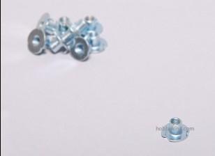 Ciega Tuerca M4 (10 piezas)