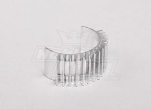 Disipador de calor de aleación de 28 mm Motor Motor