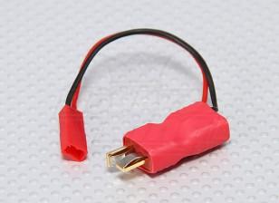 T-Conector JST - Hombre en línea adaptador de corriente