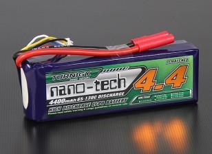 Turnigy nano-tech 4400mah 4S 65 ~ 130C Lipo Paquete