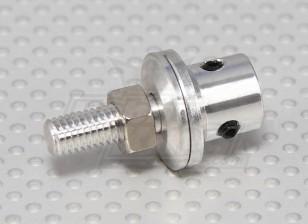 Prop adaptador w / Acero tuerca del eje 4 mm (Grub tipo tornillo)