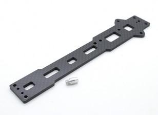 Chasis superior de la placa (fibra de carbono) w / hardware - A2003T, 110BS y A2010