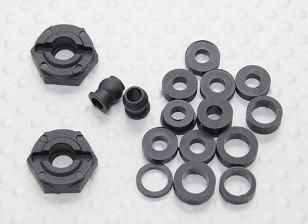 Cubo de la rueda / fundas - A2030, A2031 y A2033