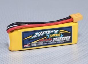 ZIPPY Compacto 2200mAh 2S Lipo 25C Paquete