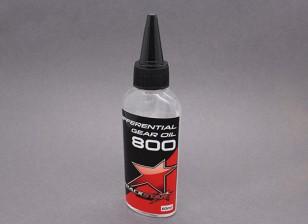 TrackStar silicona aceite de Diff 800cSt (60 ml)