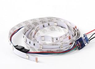 tira de LED / Multi Función 9 Modo del multicolor de la Unidad de Control