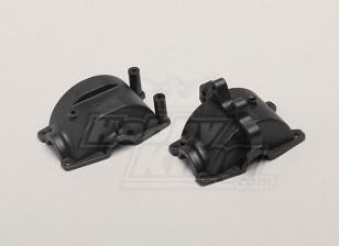 Caso delantero / trasero Caja de engranajes - 1/18 4WD RTR en carretera la deriva / Short Course / Racing Buggy