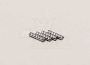 Hex rueda de Pin (1,5 * 7) - 1/18 4WD RTR en carretera la deriva / Short Course (4pcs)