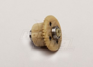 Dif engranaje principal w / Rodamientos (4T motor de engranajes) - 1/18 4WD RTR en carretera la deriva / Short Course
