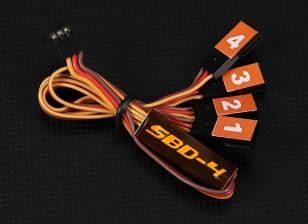 SBD4 de 4 canales S.Bus Decoder