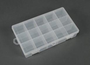 Multiusos de plástico Organizador - 15 Compartimiento grande