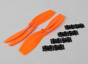10x4.5 SF Puntales 2pc CW 2 pc CCW rotación (naranja)