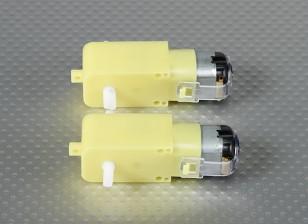 Motorreductor w / 90º del eje (2pcs / bag)