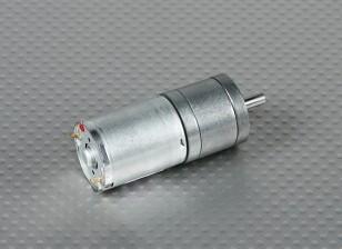 133RPM cepillado Motor w / 75: 1 Caja de cambios