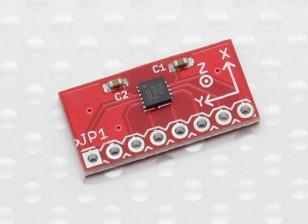 Kingduino BMA180 ultra-alto rendimiento de tres ejes del módulo del sensor del acelerómetro