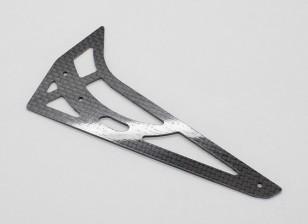 Trex / HK450 PRO 1,2 mm de fibra de carbono del estabilizador vertical