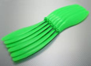 GWS EP hélice (DR-1365 330x165mm) verde (6pcs / set)