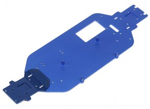Chasis de aluminio Placa - 1/10 Quanum Vandal 4WD Buggy Racing