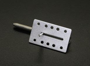 Marquesina de aluminio Bloquear / lengüeta con muelle