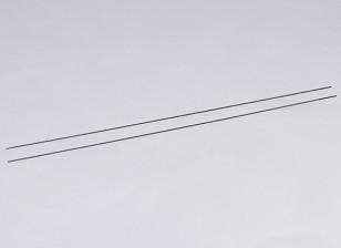 Empujar el metal Varillas M2xL550 (2pcs / set)