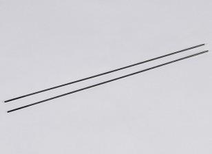 Empujar el metal Varillas M2.2xL250mm (2pcs / set)