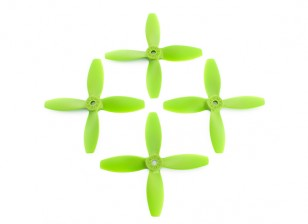 Lumenier FPV Racing Green Propulsores 4040 4-Blade (CW / CCW) (2 pares)