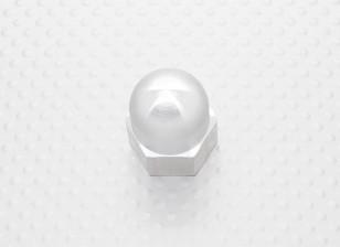 Tuerca hexagonal spinner prop aleación de M5x0,8