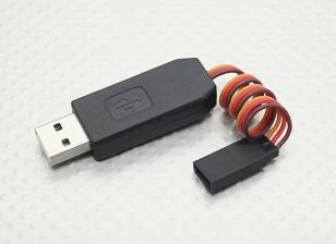 Adaptador USB para programación HobbyKing X-Car 120A y 60A ESC