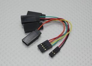 ESC conexión del arnés 100 mm.