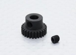 26T / 5 mm de acero templado 48 Pitch engranaje de piñón