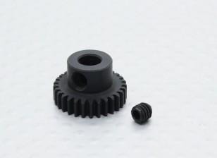29T / 5 mm de acero templado 48 Pitch engranaje de piñón