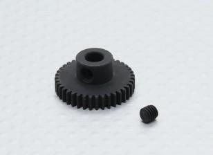 39T / 5 mm de acero templado 48 Pitch engranaje de piñón