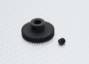 41T / 5 mm de acero templado 48 Pitch engranaje de piñón